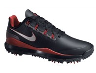 Nike Mens TW 14 Golf Shoes (Black/Metallic Silver) 2014