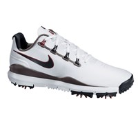 Nike Mens TW 14 Golf Shoes 2014 (White/Metallic Grey)