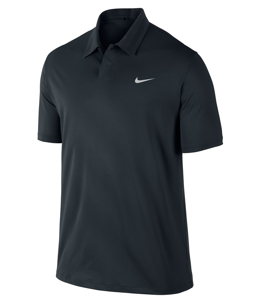 Nike Mens TW Embossed Polo Shirt 2014 - Golfonline