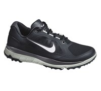 Nike Mens Fi Impact Golf Shoes 2014 (Black/Metallic Silver-Dark Grey)