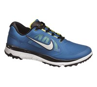 Nike Mens Fi Impact Golf Shoes 2014 (Military Blue/White)