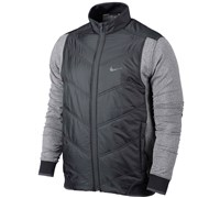 Nike Mens Therma Mapping Golf Jacket 2014 (Black)