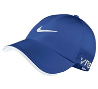 Nike Tour Perforated Adjustable Golf Cap 2014 (Game Royal/White)