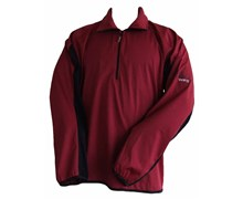 Oscar Jacobson Mens 3 Layer Windproof Sweater