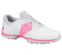 Nike Ladies Delight V Golf Shoes 2014 (White/Pink)