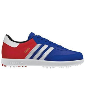 Adidas Samba Limited British Open Edition Shoes (Blue/Red) 2012
