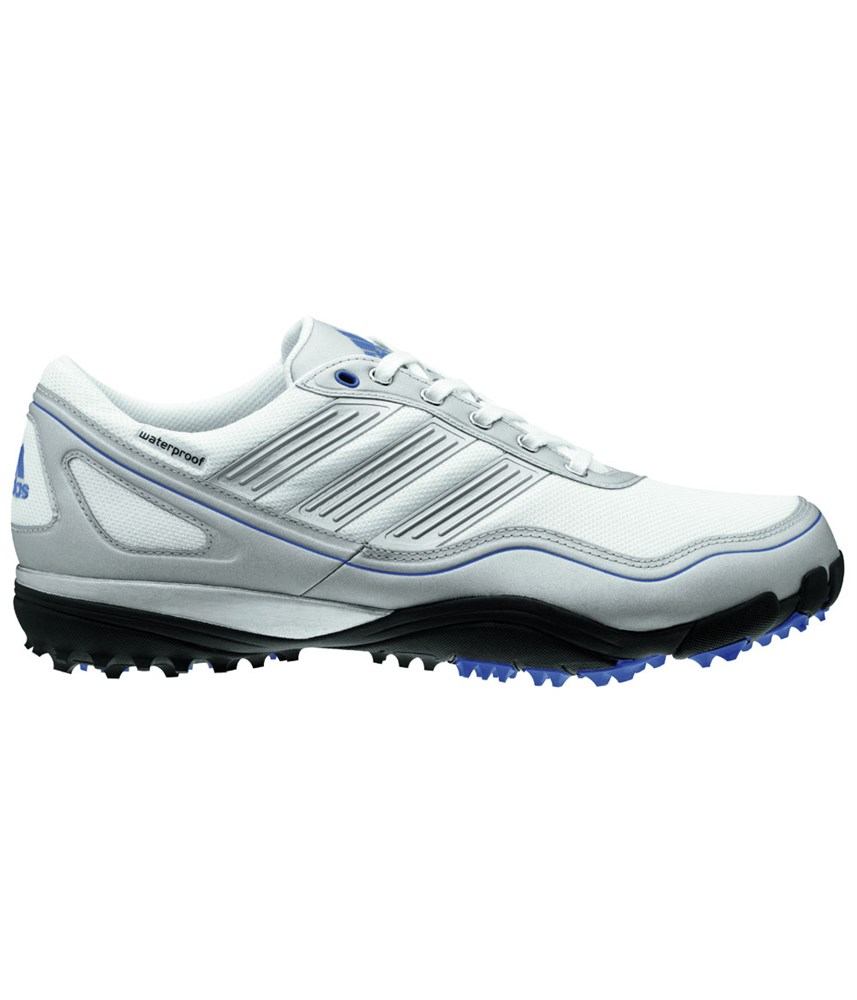 adidas mens puremotion waterproof spikeless golf shoes