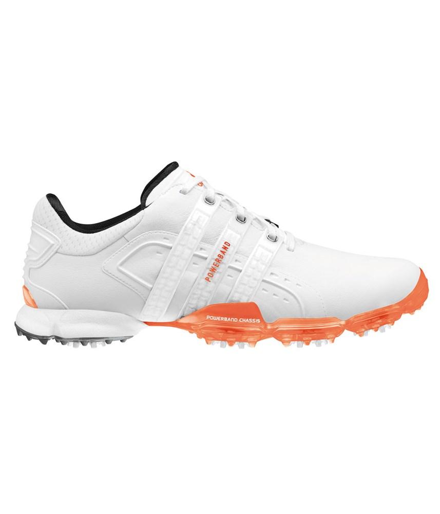adidas mens powerband 4 0 golf shoes white white