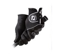 FootJoy Ladies RainGrip Golf Gloves 2014 (Black)