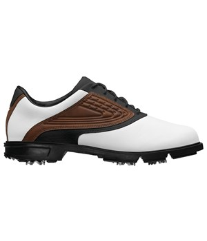 Adidas AdiCore Z Traxion Golf Shoes (White/Malt/Black)