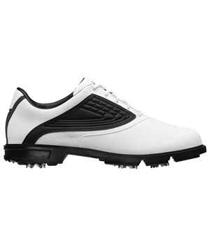 Adidas Mens AdiCore Z Traxion Golf Shoes (White/Black/White)