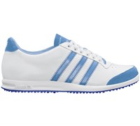 Adidas Ladies Adicross Street Shoes (White/Light Blue/Royal)
