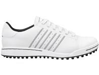 Adidas Junior Adicross Street Shoes (White/Black)