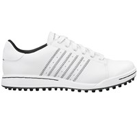 Adidas Junior Adicross Street Shoes (White/Black/Black)