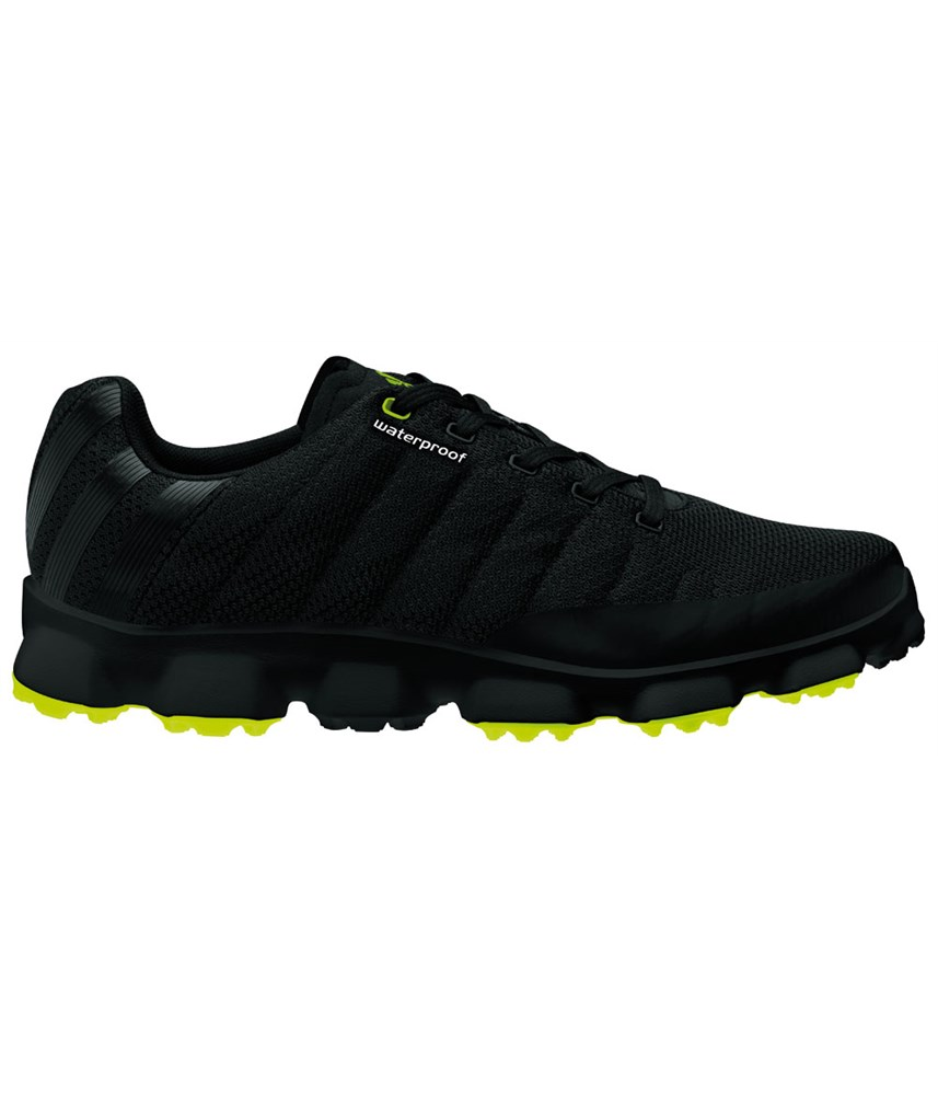 adidas mens crossflex waterproof golf shoes black 2013