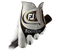 FootJoy Mens Sciflex Golf Gloves (White/Black)