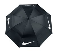 Nike 68 Inch Windsheer Golf Umbrella (Black/White)