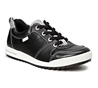 Ecco Golf Junior Street Shoes 2014 (Black/Grey/White)