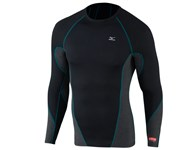Mizuno Mens Breath Thermo Virtual Body Crew Neck Mock