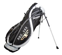 Cleveland Limited Edition CG 588 Series Ultralite Stand Bag (Black/White)