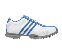 Adidas Ladies Signature Natalie Golf Shoes (White/Gulf/Tide)