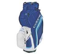 Cobra BiO Cart Bag 2014 (Blue/White)