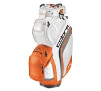 Cobra BiO Cart Bag 2014 (White/Orange)