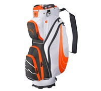 Puma Golf FormStripe 2.0 Cart Bag (Orange/White)