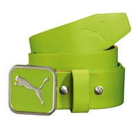 Puma Golf Square Fitted Belt 2014 (Lime)