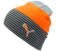 Puma Golf Stripe Fleece Lined Beanie 2014 (Orange)