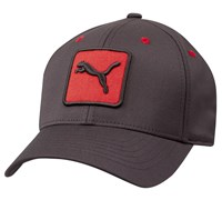 Puma Golf Pro Tour Bio Cat Patch FlexFit Cap 2014 (New Crimson)