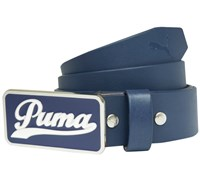 Puma Golf Script Fitted Belt 2014 (Navy)