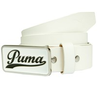 Puma Golf Script Fitted Belt 2014 (White)