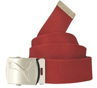 Puma Golf Spectrum Web Fitted Golf Belts 2014 (New Crimson)