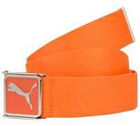 Puma Golf Cuadrado Web Belt 2014 (Vibrant Orange)