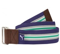Puma Golf Stripe Jacquard Web Belt (Navy)