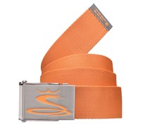Cobra Jacquard Web Belt (Orange)