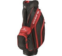 Cobra Excell Golf Cart Bag 2014 (Black/Red)