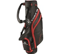 Cobra Excell Lightweight Executive Sunday Pencil Bag 2014 (Black/Red)