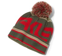Oakley Factory Pom Pom Winter Beanie 2014 (Red)