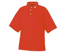 FootJoy Mens Performance Stretch Pique Solid Shirt 2013 (Flame)
