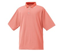 FootJoy Mens Performance Jacquard Shirt 2012 (Coral/White)