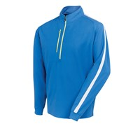 FootJoy Mens Brushed Chill-Out Pullover 2014 (Marine/White)