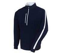 FootJoy Mens Brushed Chill-Out Pullover 2014 (Navy/White)