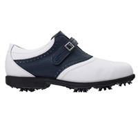 FootJoy Ladies AQL Golf Shoes 2014 (White/Blue)