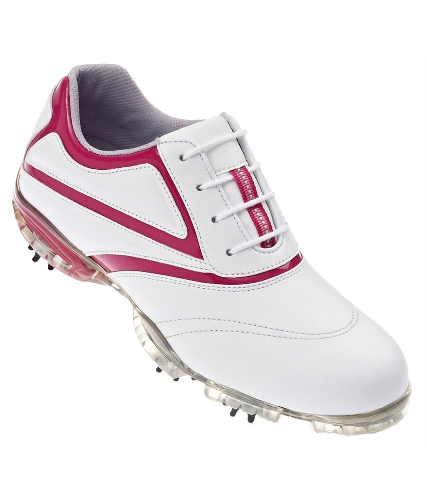 FootJoy Ladies Sport Golf Shoes (White/Fuchsia) 2013