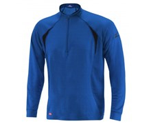 Mizuno Mens Breath Thermo Wool Xtreme Zip Top (Royal/Black)