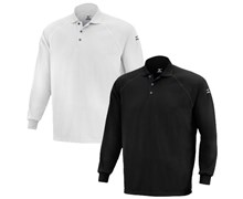 Mizuno Mens DryLite Long Sleeve Polo Shirt
