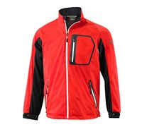 Mizuno Mens Impermalite Flex Waterproof Rain Jacket (Red)