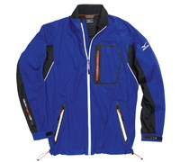 Mizuno Mens Impermalite Flex Waterproof Rain Jacket (Royal Blue/Black)